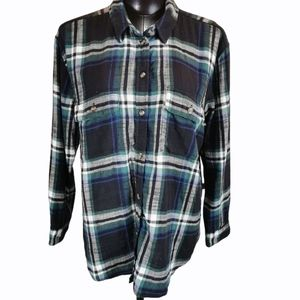 American Eagle Outfitters Oversized Plaid Shirt L